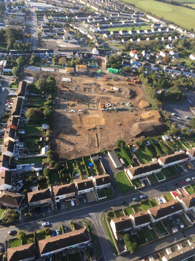 Three Meadows aerial view